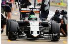 Force India - GP England - Formel 1 - 2016