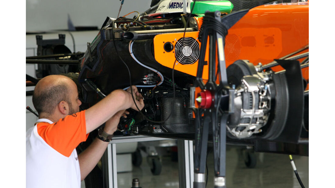Force India - GP England - Silverstone - Do. 7. Juli 2011