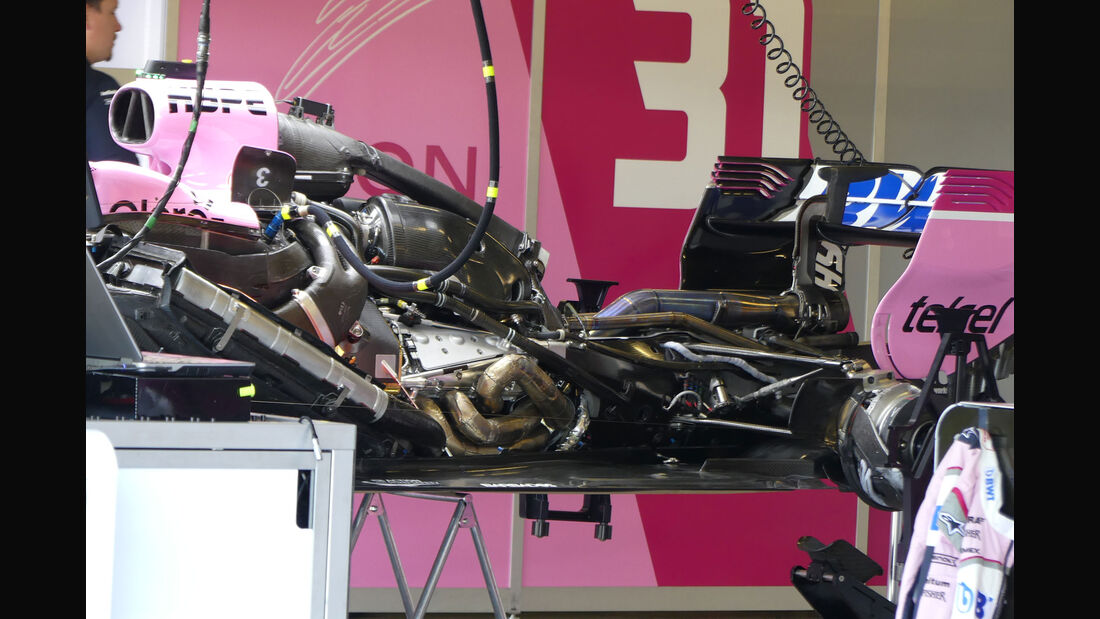 Force India - GP England - Silverstone - Formel 1 - Donnerstag - 5.7.2018