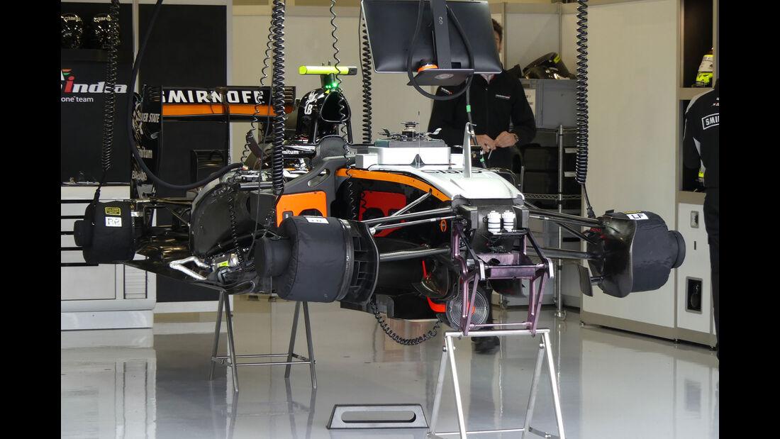 Force India -  GP England - Silverstone - Formel 1 - Freitag - 8.7.2016