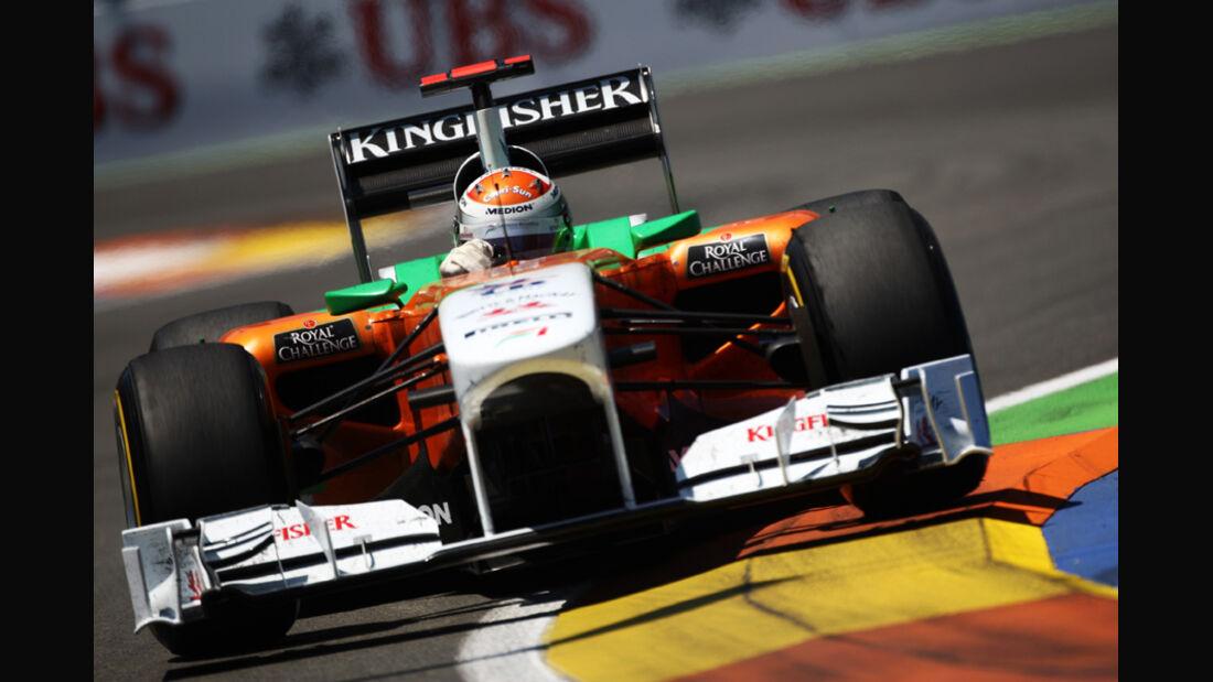 Force India GP Europa Valencia 2011