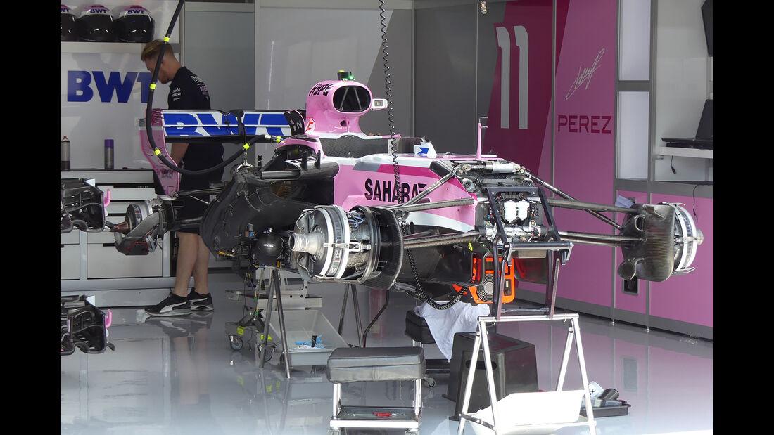 Force India - GP Francreich - Le Castellet - Circuit Paul Ricard - 20. Juni 2018