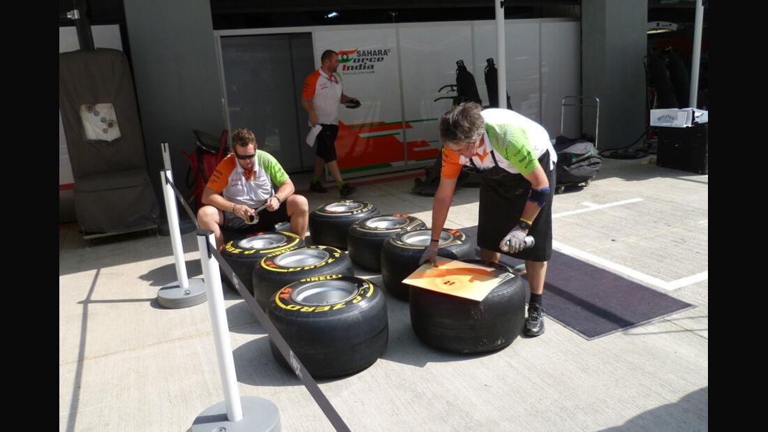 Force India - GP Indien - 27.10.2011