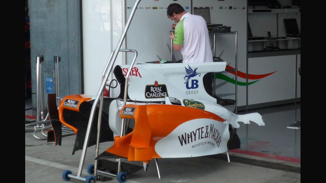 Force India GP Italien 2010