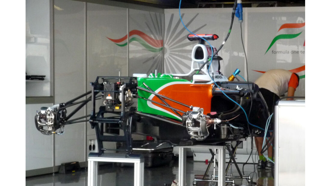Force India GP Italien 2011
