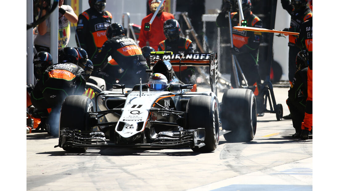 Force India - GP Italien 2015