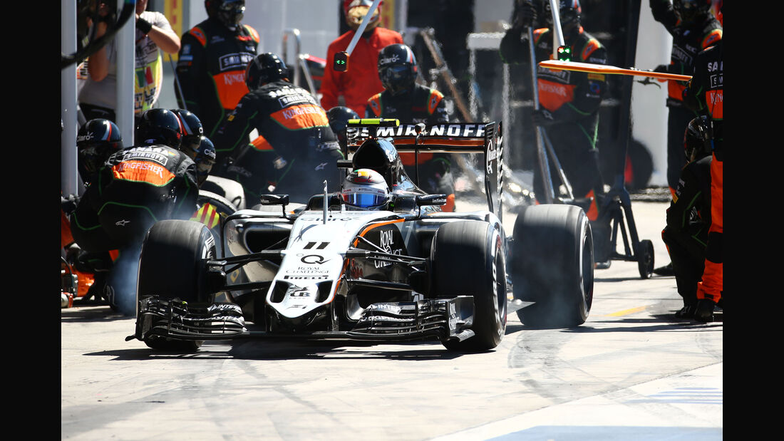 Force India - GP Italien 2015