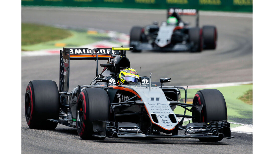 Force India - GP Italien 2016