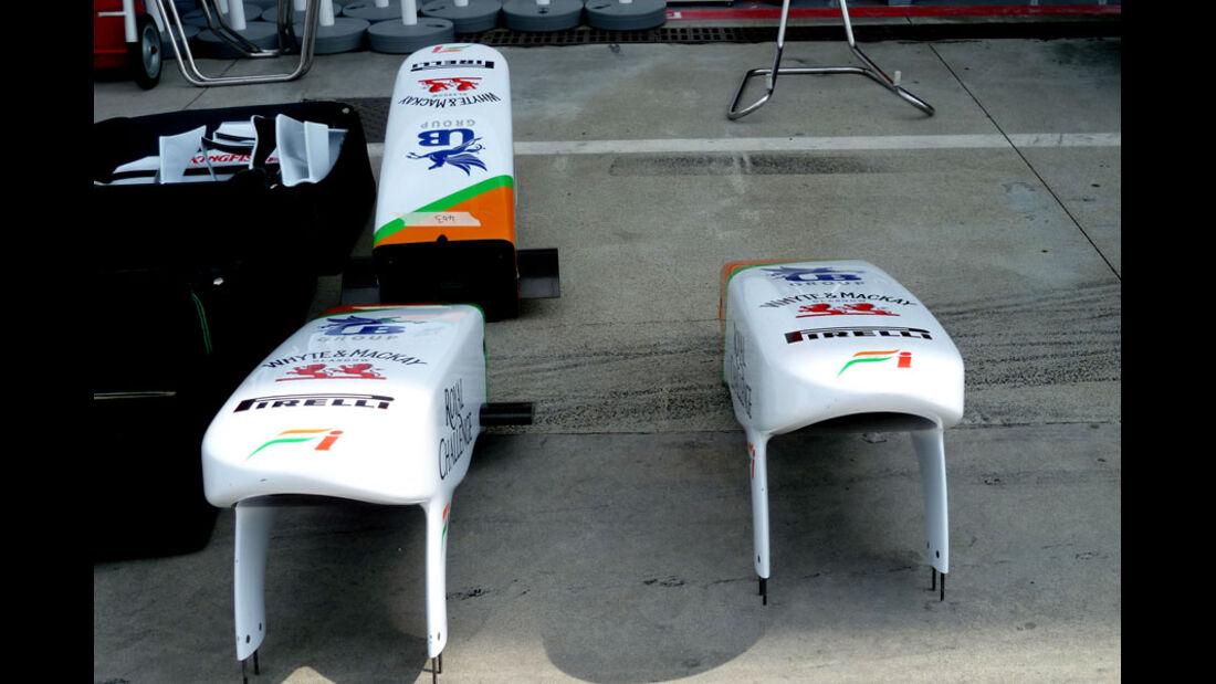Force India - GP Italien - 8. September 2011