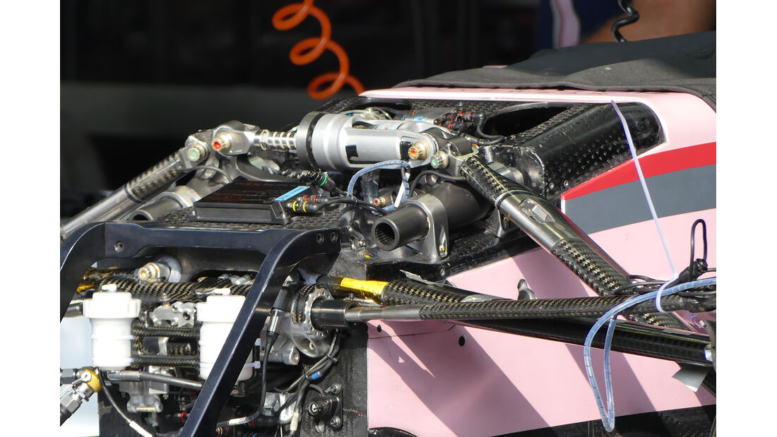 Force India  - GP Italien - Monza - Formel 1 - 30. August 2017