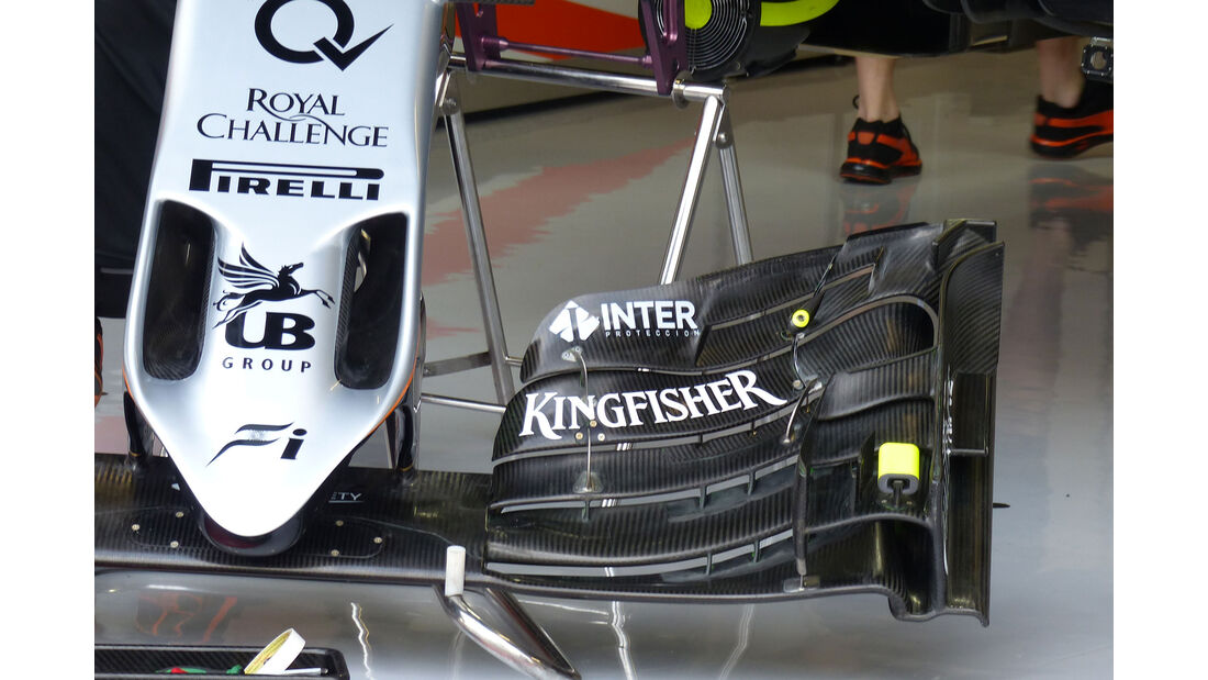 Force India - GP Italien - Monza - Freitag - 4.9.2015