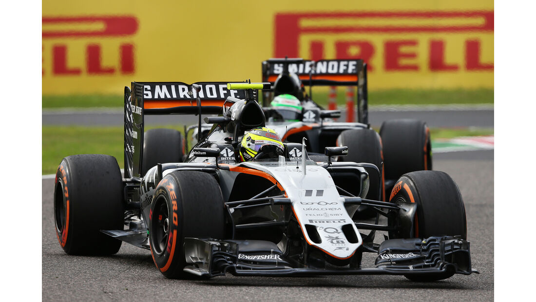 Force India - GP Japan 2016