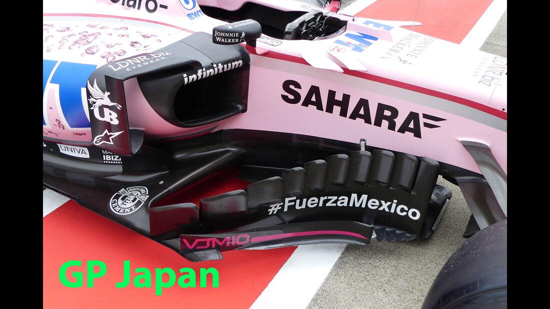 Force India - GP Japan 2017