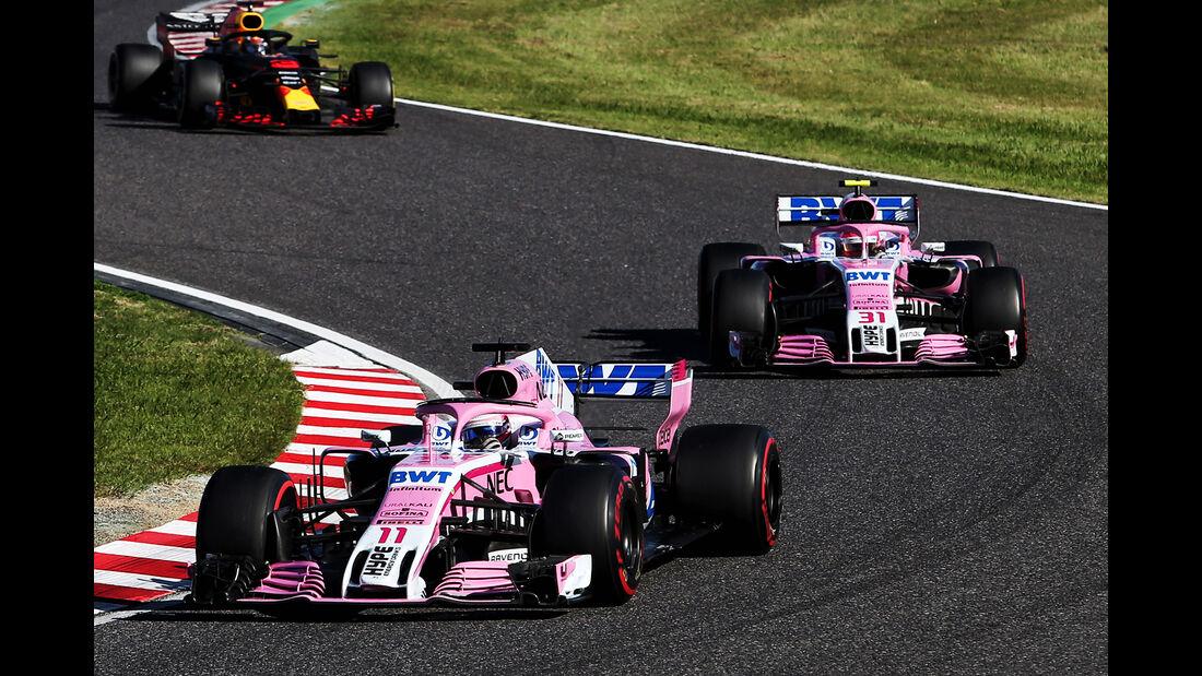 Force India - GP Japan 2018