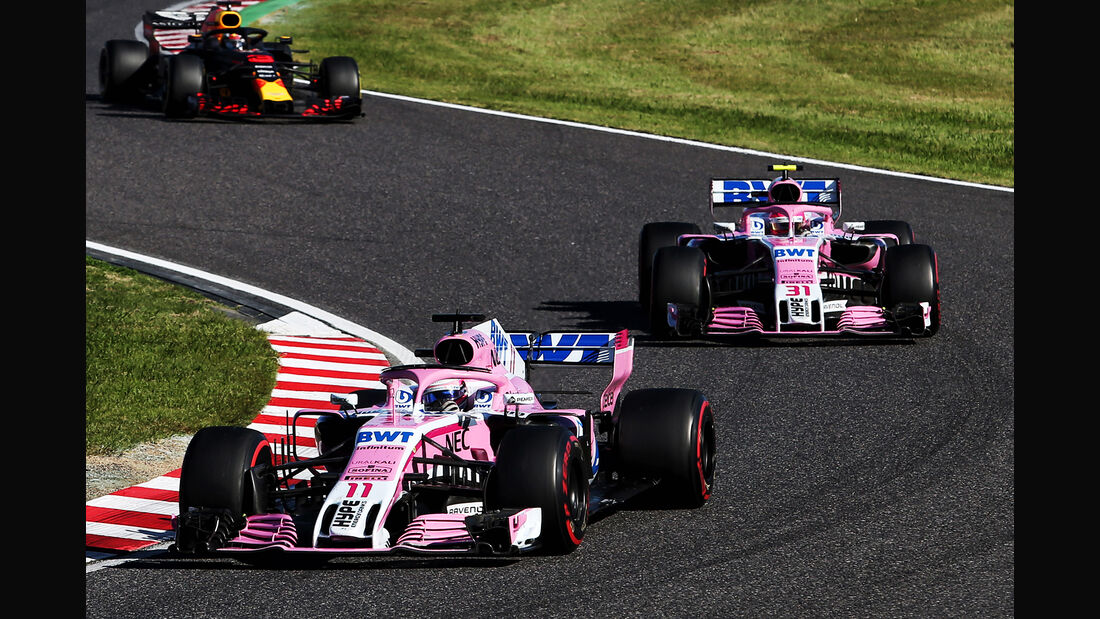 Force India - GP Japan 2018