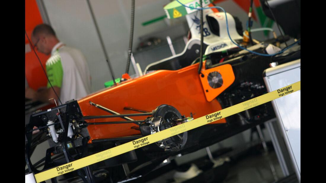 Force India - GP Japan - Suzuka - 6. Oktober 2011
