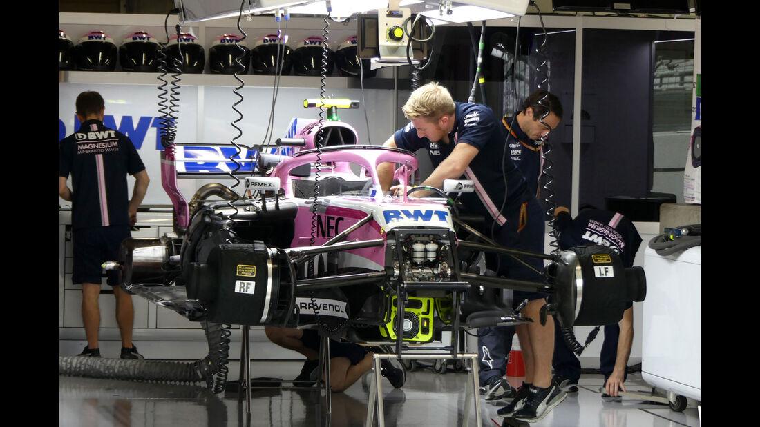 Force India - GP Japan - Suzuka - Formel 1 - Freitag - 5.10.2018