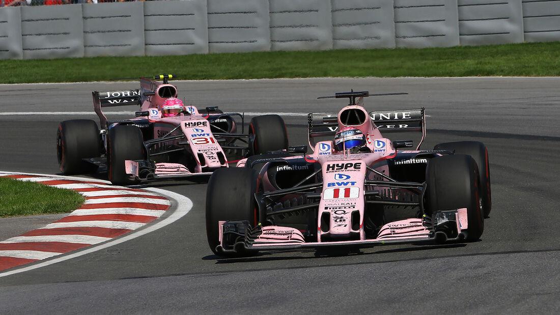 Force India - GP Kanada - Formel 1 - 2017