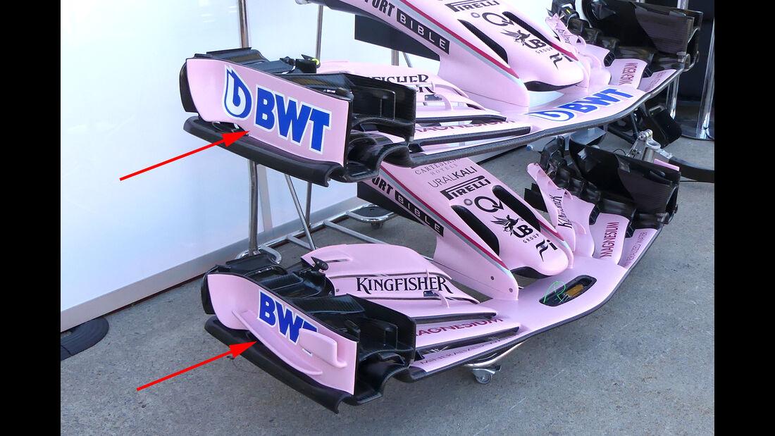 Force India - GP Kanada - Formel 1 - Technik - 2017