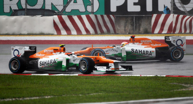 Force India GP Malaysia 2012