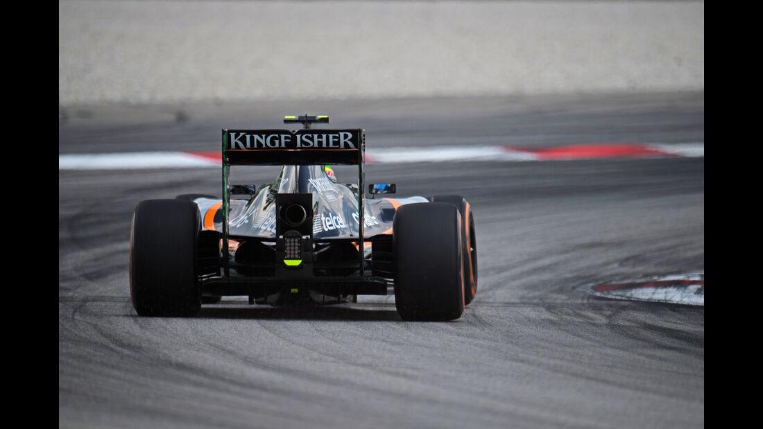 Force India - GP Malaysia 2015 - Kühlung