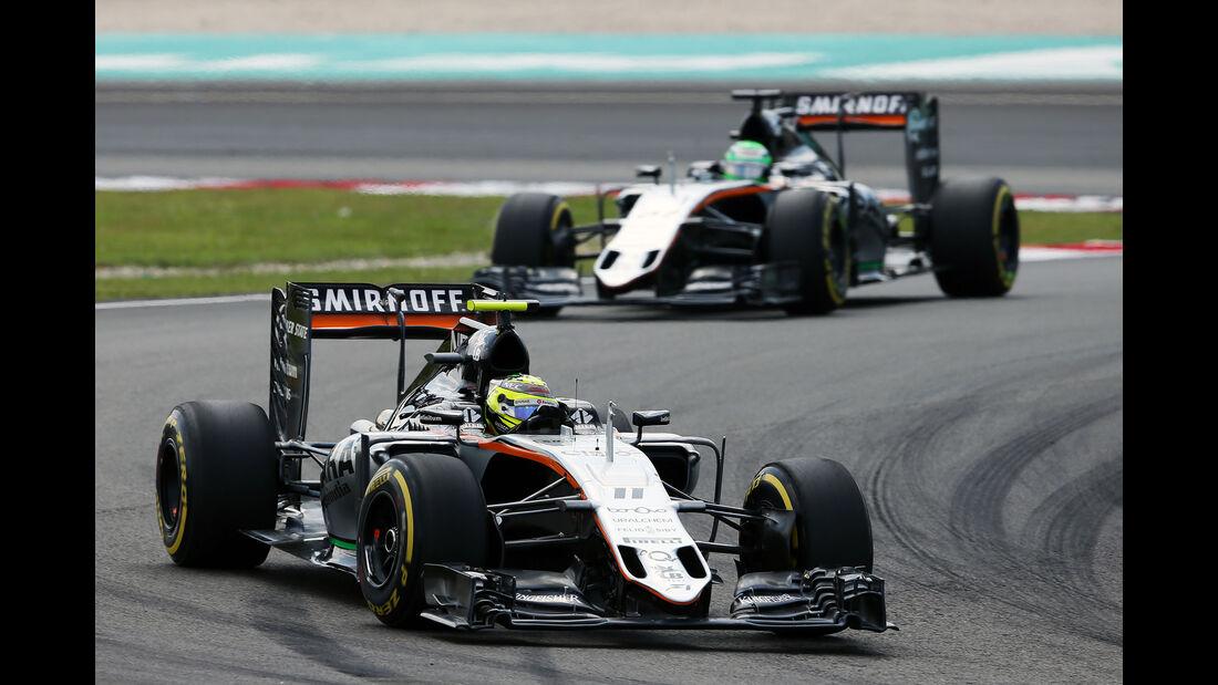 Force India - GP Malaysia 2016