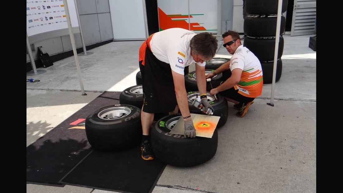 Force India - GP Malaysia - 22. März 2012