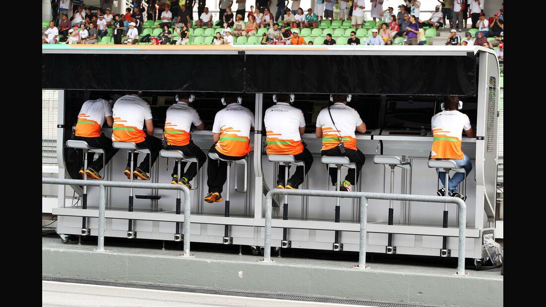 Force India - GP Malaysia - 24. März 2012