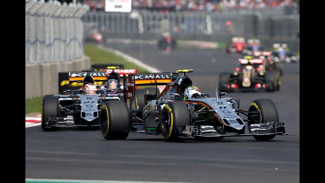Force India - GP Mexiko 2015
