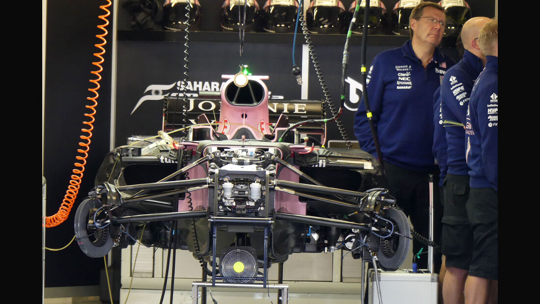 Force India - GP Mexiko - Formel 1 - Donnerstag - 26.10.2017