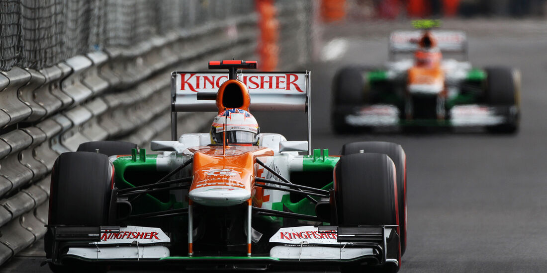 Force India - GP Monaco 2012