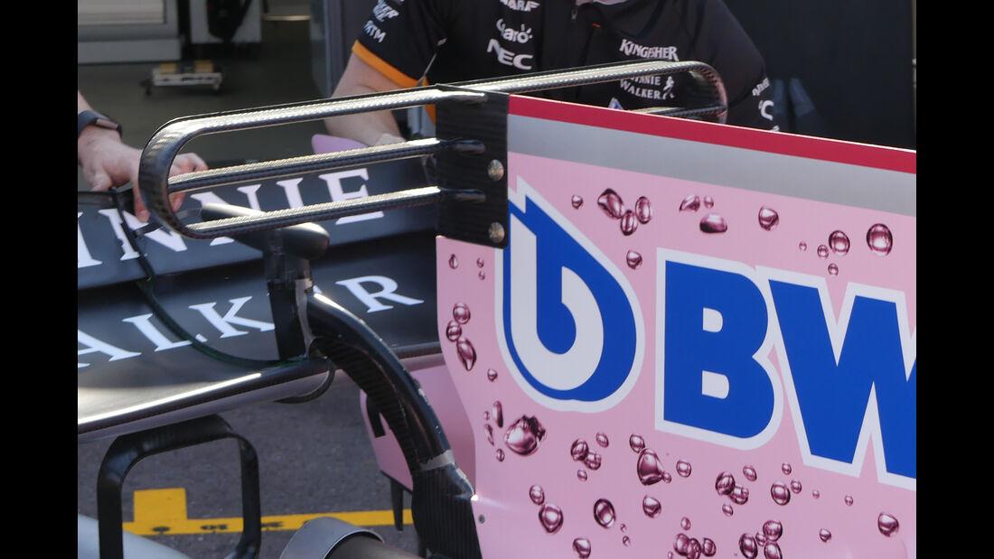 Force India - GP Monaco - Formel 1 - 14. Mai 2017