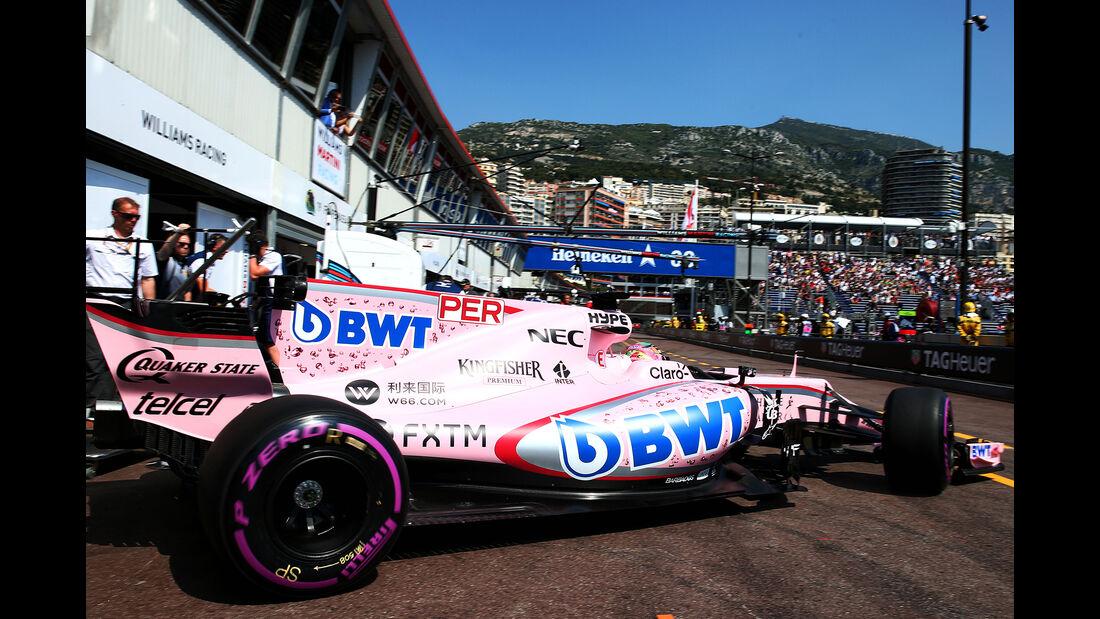 Force India - GP Monaco - Formel 1 - 2017