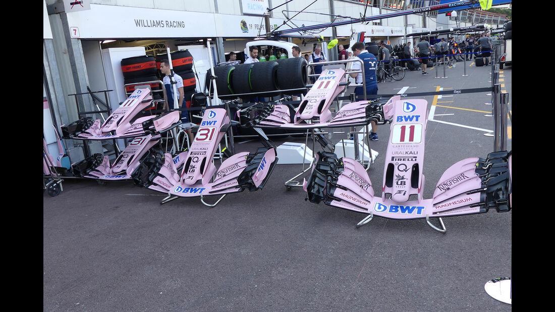 Force India - GP Monaco - Formel 1 - 24. Mai 2017