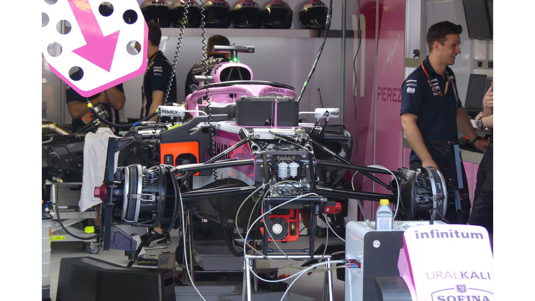 Force India - GP Monaco - Formel 1 - Freitag - 25.5.2018