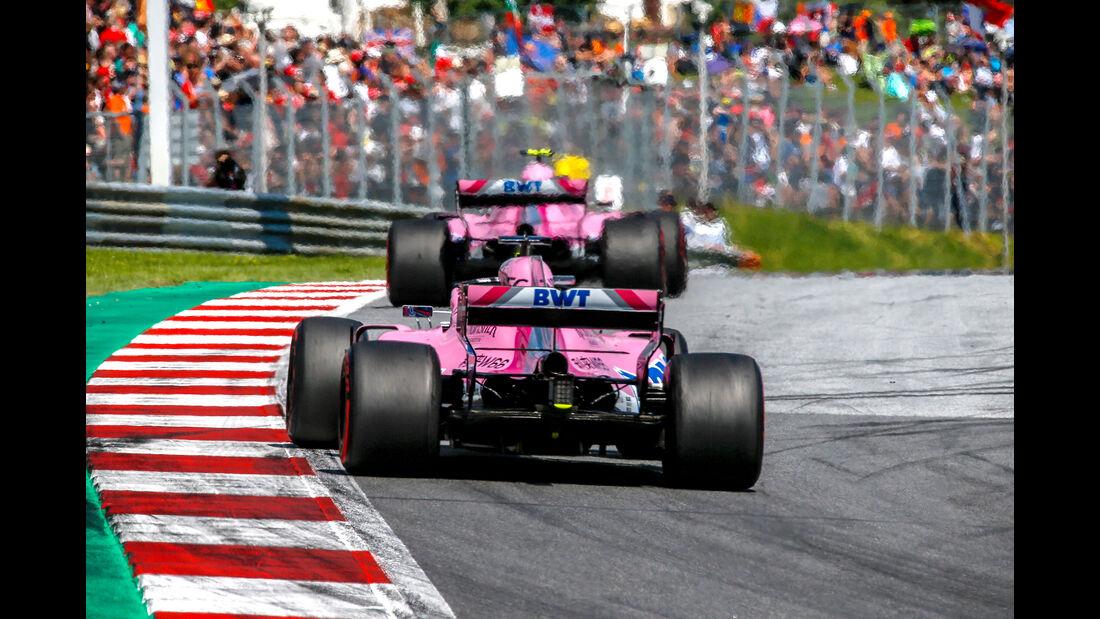 Force India - GP Österreich 2018