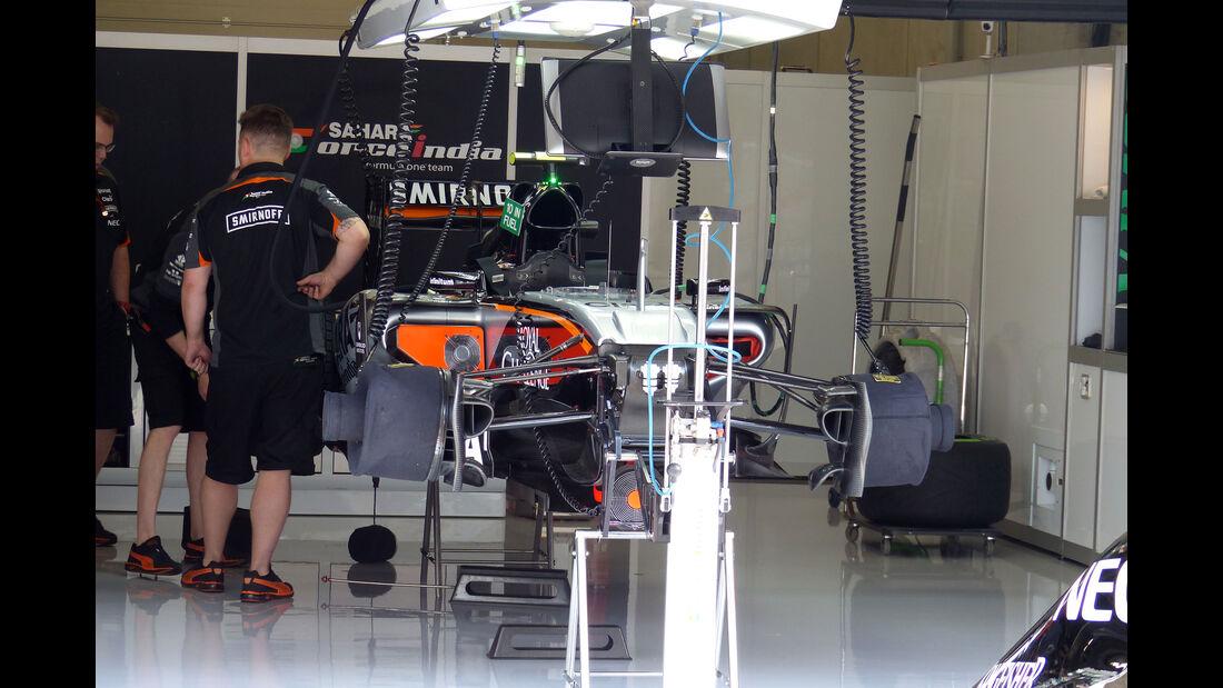 Force India - GP Österreich - Formel 1 - Freitag - 19.6.2015