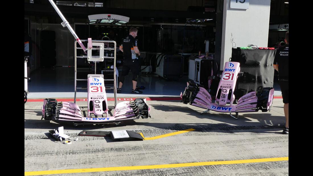 Force India - GP Österreich - Spielberg - Formel 1 - Freitag - 7.7.2017