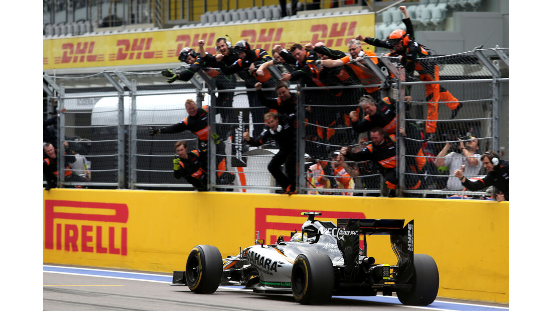Force India - GP Russland 2015