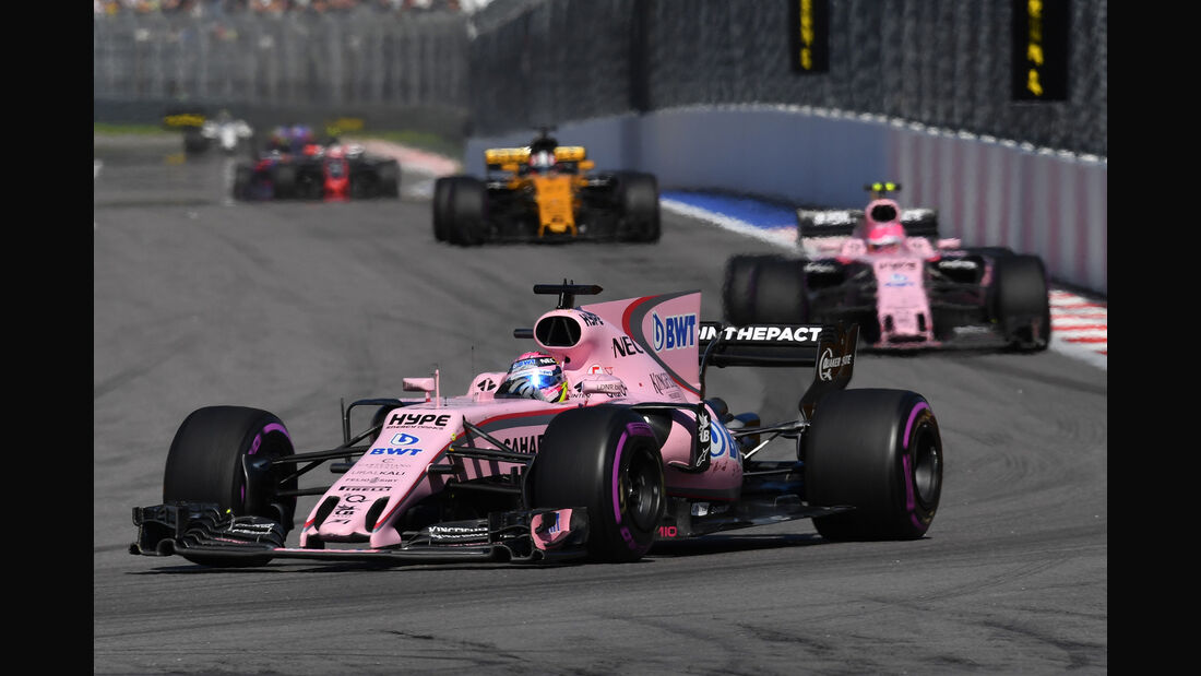 Force India - GP Russland 2017