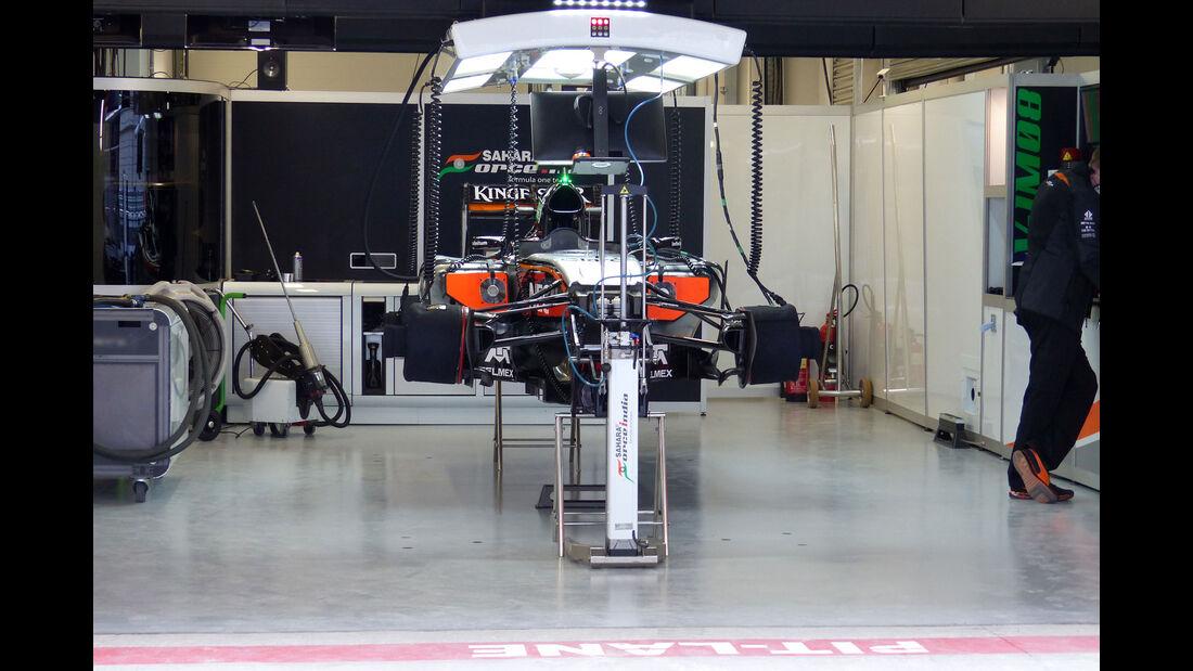 Force India - GP Russland - Sochi - Freitag - 9.10.2015