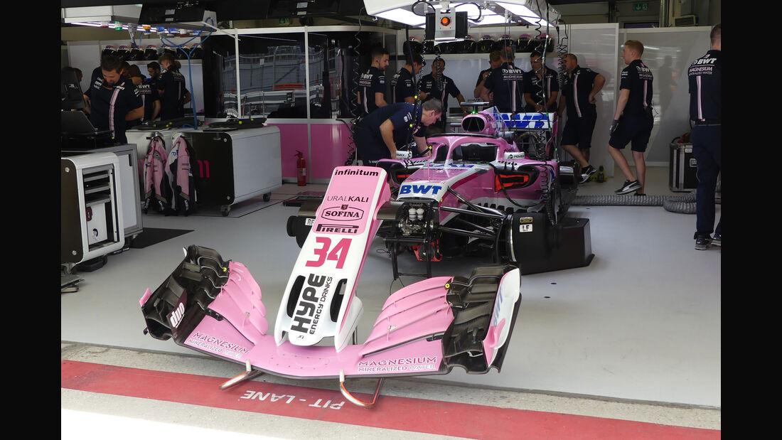Force India - GP Russland - Sotschi - Formel 1 - Freitag - 28.9.2018