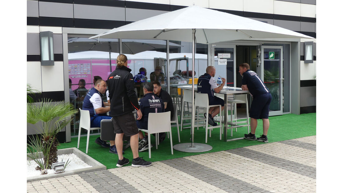 Force India - GP Russland - Sotschi - Formel 1 - Mittwoch - 26.09.2018