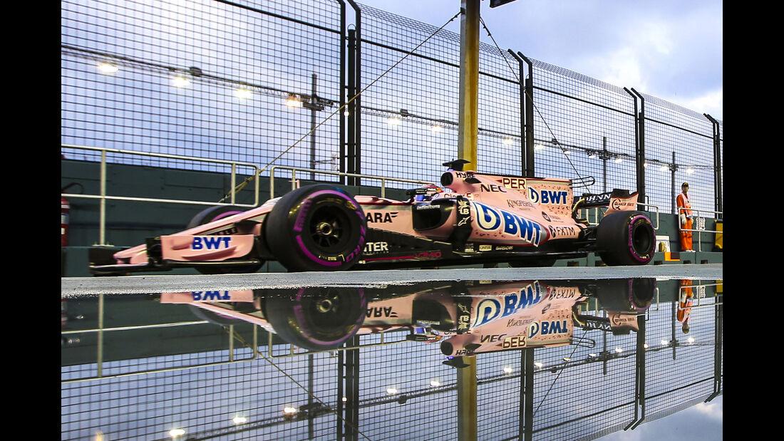 Force India - GP Singapur 2017