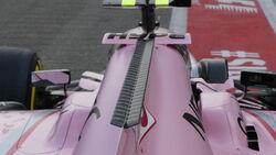 Force India - GP Singapur - Formel 1 - Donnerstag - 14.9.2017