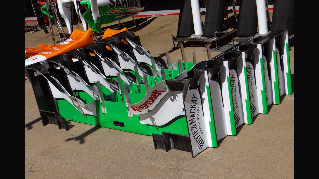 Force India - GP Spanien - 10. Mai 2012