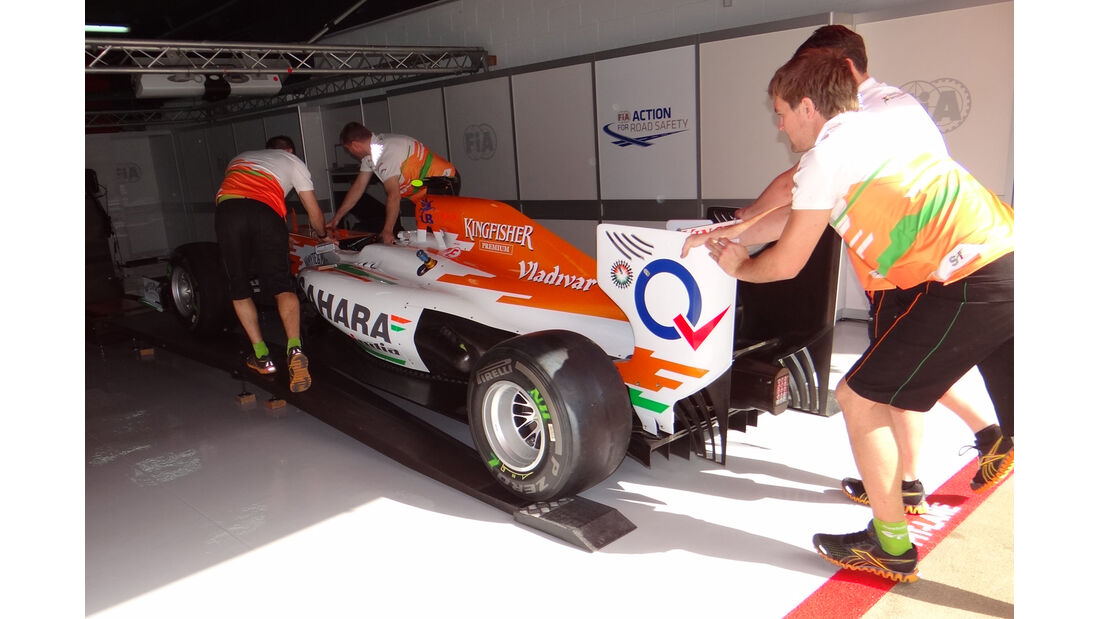 Force India - GP Spanien - 12. Mai 2012