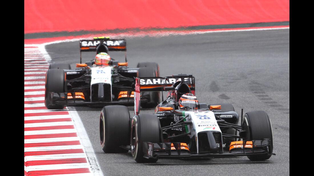 Force India - GP Spanien 2014