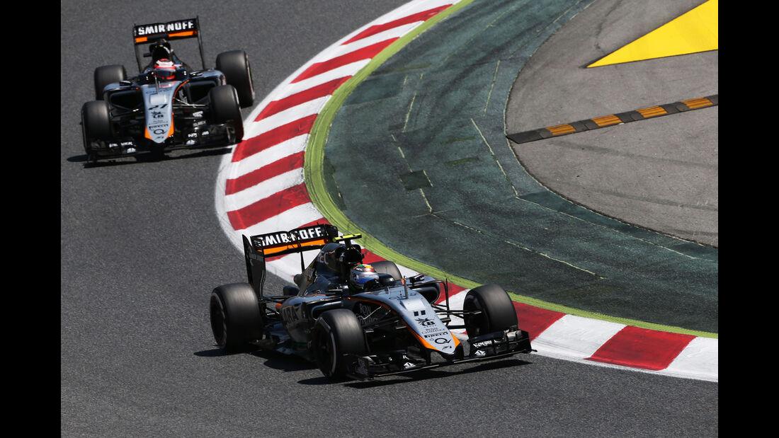 Force India - GP Spanien 2015