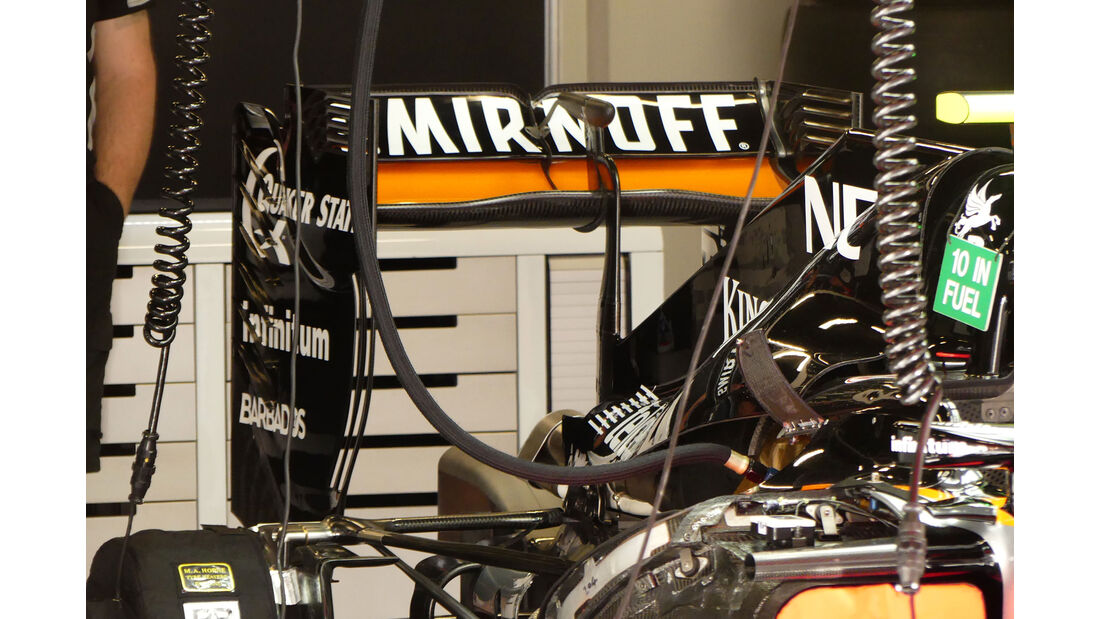 Force India - GP Spanien 2016 - Barcelona - F1 - Freitag - 13.5.2016